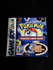 Pokemon Trading Card Game Gameboy Color COMPLETE WITH CARD