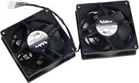 HP Z820 80mm 12VDC 0.35A Rear Dual Fan New 644315-001