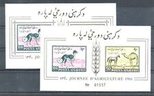 Old block of Afghanistan 1961 # BL 8 PERF+IMPERF MNH
