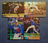 2020 Topps Stadium Club Chrome X-FRACTOR Refractors with Rookies You Pick