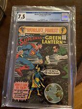 Worlds Finest Comics #201 CGC 7.5 Superman Vs Green Lantern D.C Comics
