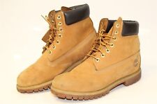 Timberland Mens 10.5 M Brown Waterproof Insulated Nubuck Leather Boots xyk