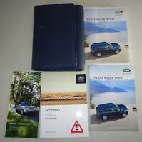 Bordmappe + Handbuch | Owner's manual + wallet Range Rover Sport Stand 2015