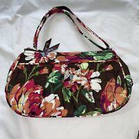 VERA BRADLEY Shoulder Crossbody Bag With Coin Purse. Frannie English Rose. New.