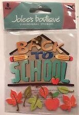 "Jolee's Boutique ""Back 2 School""Dimensionl Stickers"