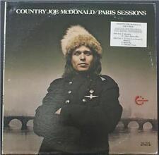 COUNTRY JOE MCDONALD - PARIS SESSIONS - PROMO ROCK VINYL LP