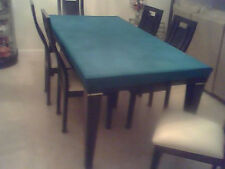"poker table cover- felt style in speed lite - rectangle table 70 * 50"" + pad"