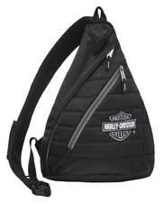Harley-Davidson Bar & Shield Quilted Travel Large Sling Backpack 90820-SILVER