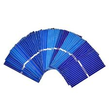 Células de panel solar de 100Pcs Hágalo usted mismo Cargador silicio policristalino Plaça Bord 39x19mm