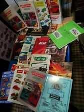 A Large Group of 31 Catalogues & Price Lists for mainly Diecast Models