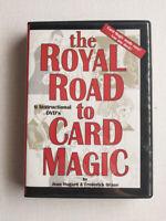 The Royal Road to Card Magic 6 DVDs, Houdini Magic, Jean Hugard Frederick Braue