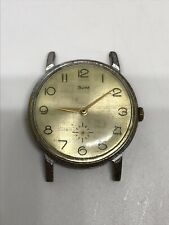 Зим Zim Vintage Wrist Watch USSR Man's Soviet  15 Jewels Mechanical Working