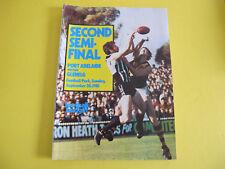 Sept 1981 Port Adelaide v Glenelg Semi Final South Australian Football Budget