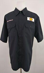 Kevin Harvick Nascar #29 XL Short Sleeve Button Front Shell Mechanics Shirt NWT