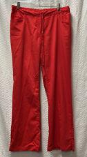 Grey's Anatomy Red Size Large Scrub Pants Style 4232