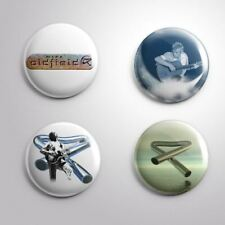 4 MIKE OLDFIELD - Pinbacks Badge Button 25mm 1''