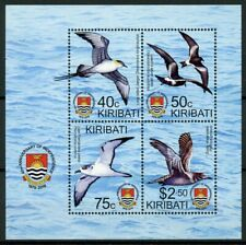 Kiribati 2019 MNH Independence 40th Anniv 4v M/S Petrels Shearwater Birds Stamps