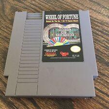 Wheel Of Fortune Original Nintendo NES Game Cart NE1