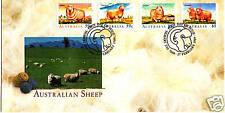 1989 Australian Sheep Fdc - Sheep Pmk