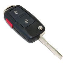 HQRP Carcasa para llave de 3 botones Seat Ibiza 2002-2006 Mando remoto