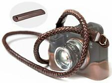 SupaDupa Leather Braided Camera Strap - Premium Quality - Men Women Neck Shoulde