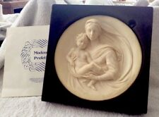 VINTAGE MADONNA PROFETICA LIMITED EDITION PLATE BY A. SANTANGELA 1981
