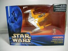 Star Wars Episode 1 Action Fleet ~ NABOO FIGHTER W/POSEABLE ANAKIN ~MISB
