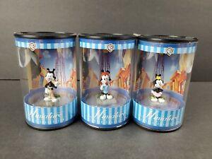 WB Animaniacs Yakko Wakko Dot Figure Miniature Set Warner Bros 1999 Vintage NEW