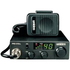 UNIDEN PRO510XL 40-Channel Compact CB Radio,Ultra-compact,coiled cord Microphone