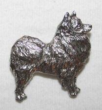 American Eskimo Dog Fine PEWTER PIN Jewelry Art USA Made