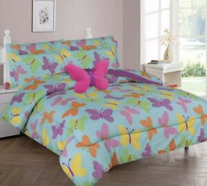 NEW BED IN A BAG COMPLETE KIDS BED COMFORTER TOP PRINTED (TWIN 6PC) (FULL 8PC)GG
