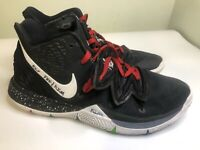 Nike Kyrie 5 Five Black Red White Size 12 Men's Basketball Shoes Lot
