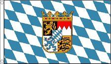3' x 2' BAVARIA FLAG Bavarian Crest Germany German Beer Festival Oktoberfest