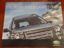 Land Rover Freelander 2 Accessories brochure 2006 Spanish text