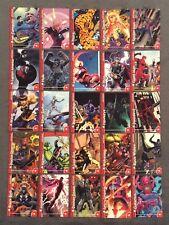 "2013 Fleer Marvel Retro Stickers Cards Comic Insert Sub 25 Card Set "" New Art """