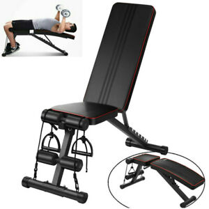 1x FlyBird Adjustable Weight Bench Incline Decline Foldable Workout Exercise