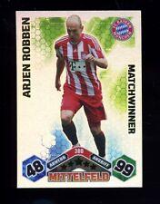 Match Attax 10/11 - 380 - ARJEN ROBBEN - Matchwinner-Tradining Cards -