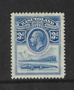 Basutoland 1933 George V 3d Mint Issue