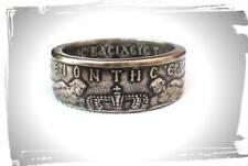 Coin Ring Greece - Greek 10 Drachmas - Souvenir - Greece coin ring  - Handmade