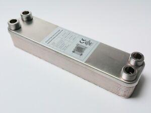 B3-23-20 Plattenwärmetauscher mit 4x3/4 Zoll Anschlüsse Wärmetauscher Heizung