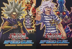 Twisted Nightmares SS05-DE Auswahl neu YU-GI-OH! 1. Auflage Speed Duel