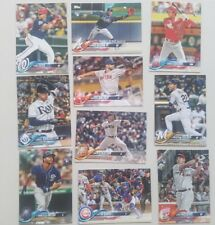 2018 TOPPS UPDATE SERIES BASE CARDS US151 TO US300 - COMPLETE YOUR SET.