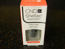 NO CHIP MANICURE CND Shellac Gel Nail Power Polish - Silver Chrome - NEW IN BOX!