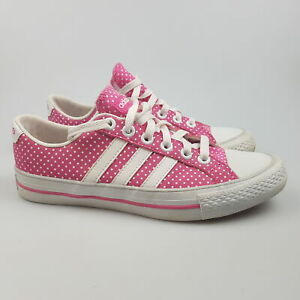Women's ADIDAS 'Neo 3 Stripes Low' Sz 6.5 US Shoes Pink VGCon | 3+ Extra 10% Off