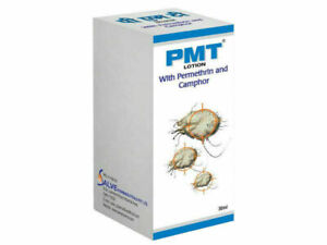 PMT Permethrine 5%Lotion For Scabies Pubic Lice Free Ship