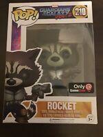 FUNKO POP! Marvel GOTG Vol.2 Rocket GameStop Exclusive #210