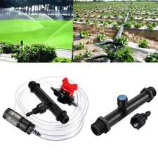 "Black Venturi Fertilizer Mixer Injector Agriculture Water Irrigation 1/2"" Pro"