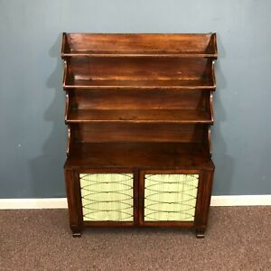 Small 19th Century Regency Mahogany Chiffonier Child Size Welsh Cabinet
