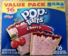 NEW Pop Tarts Toaster Pastries Frosted Cherry 16 Count Free Worldwide Shipping
