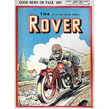 The Rover Comic Cover Large Metal Sign 410mm X 300mm (hb)